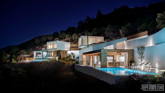 国外别墅设计案例:纯净而豪华,乡村中的别墅