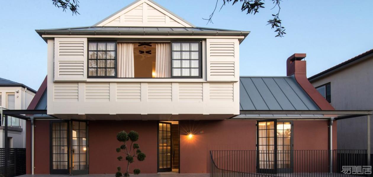 平衡之家—悉尼城郊住宅设计,传统,经典