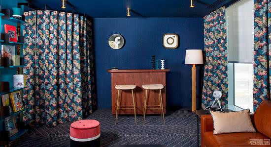 国外办公空间设计案例:把办公空间设计成客厅,营造宾至如归的氛围
