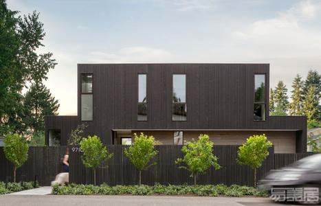 国外住宅设计案例:家庭氛围活跃的传统单户住宅