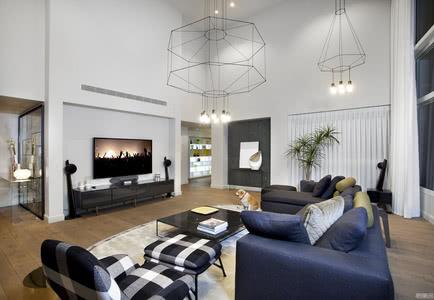 国外公寓设计案例:为奢华的空间赋予了现代风格
