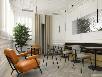 国外餐厅设计案例:看国外设计师是如何将古典背景与现代家具完美融合