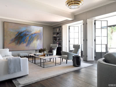 国外住宅设计案例:舒适而优雅,充满活力的现代住宅