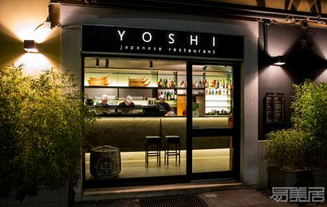 国外餐厅设计案例:极具视觉冲击力的餐厅设计