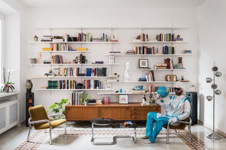 国外公寓设计案例:灵感来自于未来的简约公寓设计