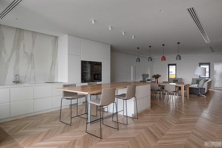 国外公寓设计案例:轻奢浪漫Carat公寓,满足你的一切幻想!