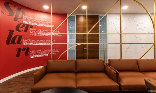 国外办公空间设计案例:宾至如归的设计概念,Sperlari新的办公空间