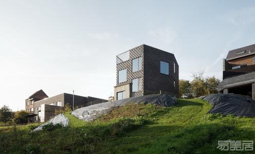 国外住宅设计案例:山谷中的私人住宅,满满的视觉享受