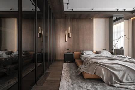 国外公寓设计案例:乌克兰公寓,以元素和纹理打造出无与伦比的精致与轻奢