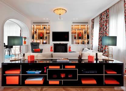 国外别墅设计案例:翻新后的新风格艺术别墅,让古典风美出新感觉