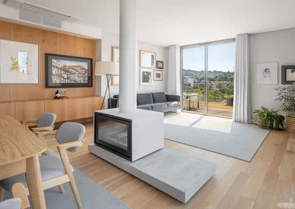 国外公寓设计案例:基于周围景观环境,打造雅致自在的公寓