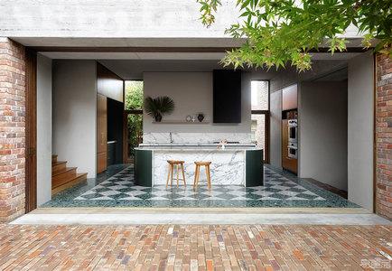 国外住宅设计案例:现代花园住宅,诠释绿色生活艺术