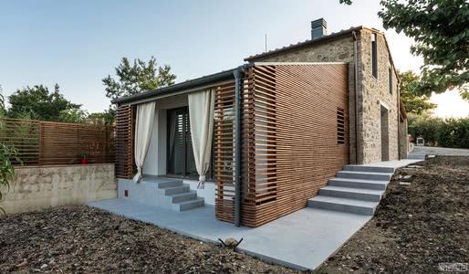 国外住宅设计案例:历史小屋的翻新,重新赋予新住宅的活力