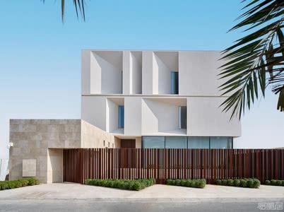国外别墅设计案例: 简约精致大别墅,让轻奢更加清爽