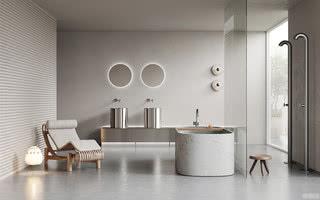 五月福利:打卡全球最新40款前卫时尚卫浴空间装修风格