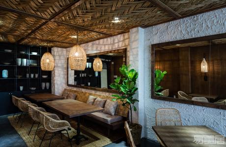 国外餐厅设计案例:令人印象深刻的三层餐厅设计