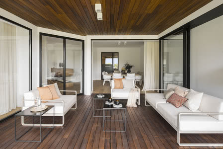 国外住宅设计案例:室内外巧妙的视觉融合,独特的住宅设计