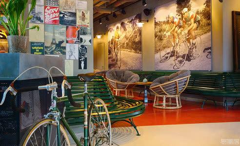 国外酒店设计案例:散发着精致和悠闲的氛围,杜塞尔多夫精品酒店