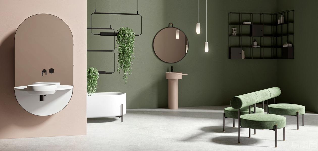 Ex.t打造出全新浴室装饰艺术:Nouveau系列,Ex.t,Nouveau系列