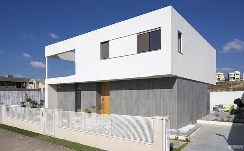 国外别墅设计案例:打造充满温暖干的现代别墅