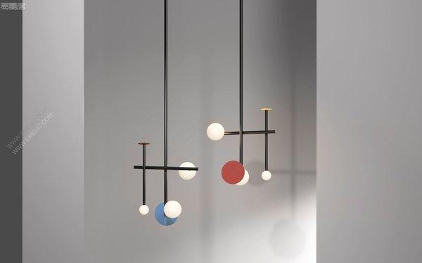 悬浮在空间中的雕塑照明,澳大利灯饰品牌Rakumba