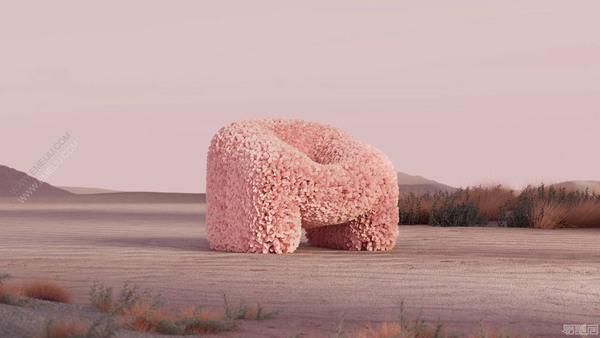 荷兰家具品牌moooi摩伊带你感受坐在盛开的花朵上的柔软