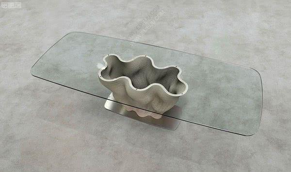 受自然瑕疵之美启发的极品,法国家具品牌Roche Bobois罗奇堡