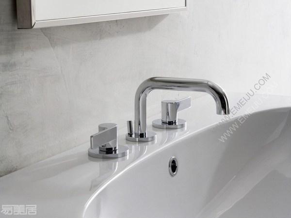 GRAFF格拉夫卫浴的极简主义,美国卫浴品牌的现代风格