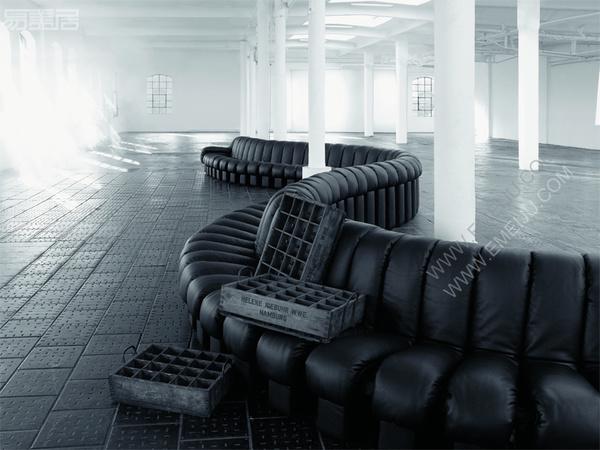 瑞典家具品牌de Sede,有趣的网上虚拟展厅