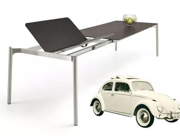 刮不花的德国岩板餐桌