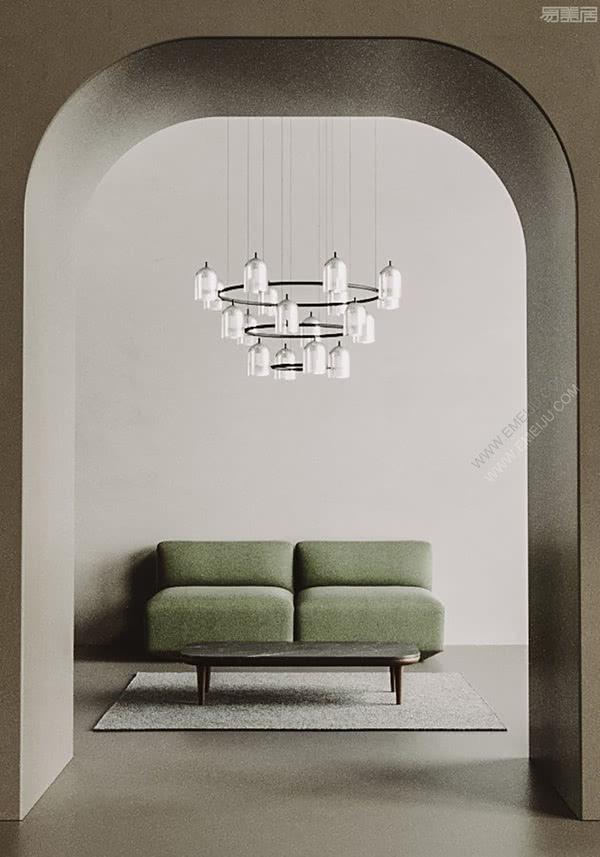 灵感来自拱顶和拱门的标志性建筑,西班牙灯饰品牌Aromas