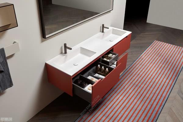 纯粹而经典的设计师卫浴品牌antoniolupi安东尼奥·卢比
