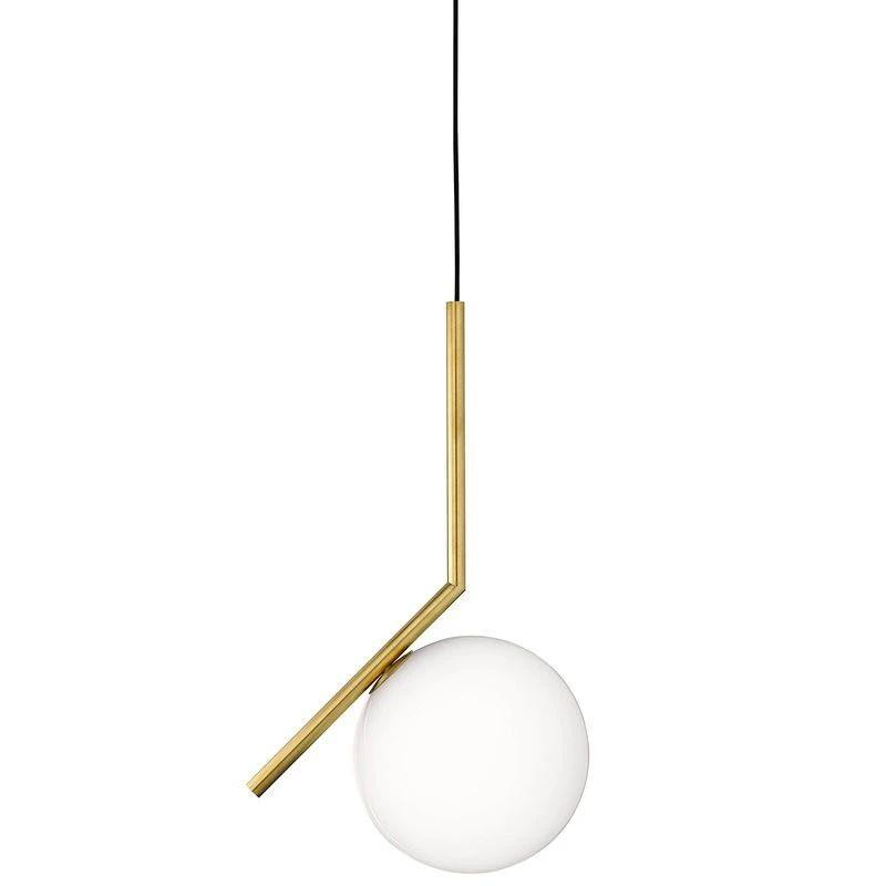 北欧风吊灯手绘素材