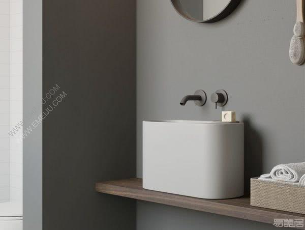 意大利卫浴品牌Rexa Design创造出平衡紧凑而精致的角落