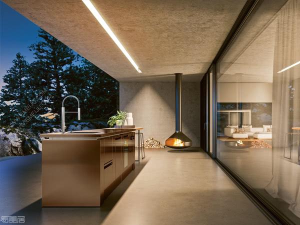 意大利橱柜品牌Rok:现代风格以及完美技术设计的结合