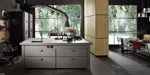 Minacciolo厨房融合传统与现代,带来全新工业风的意大利厨房品牌