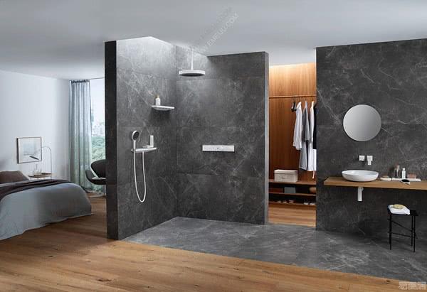 为您带来超现代淋浴体验的德国卫浴品牌Hansgrohe汉斯格雅