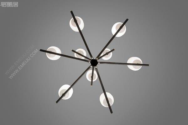 柔和的曲线和原始的设计,西班牙灯饰品牌ALMA light