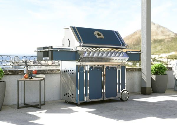 Officine Gullo厨电创造的户外厨房,意大利厨电品牌的最佳选择