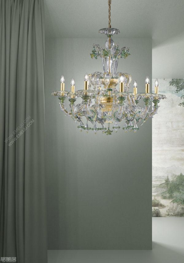 意大利灯饰品牌Sylcom:色彩的创造力