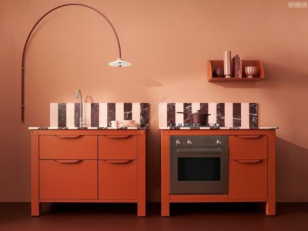 意大利厨房家具品牌Very Simple Kitchen:充满活力的可持续性模块化厨房系列