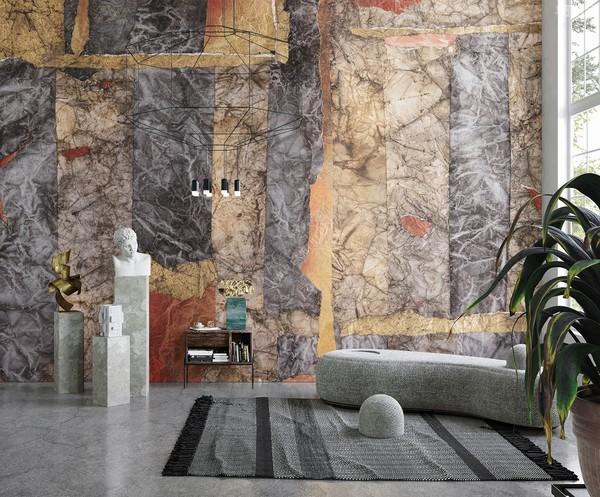 Inkiostro Bianco墙纸的艺术灵感,意大利墙纸品牌的独特作品