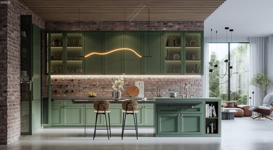 Kitchen | 最新厨房空间设计新趋势