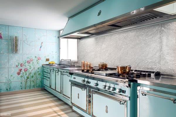 融合设计与时尚的奢华手工作品,意大利厨电品牌Officine Gullo
