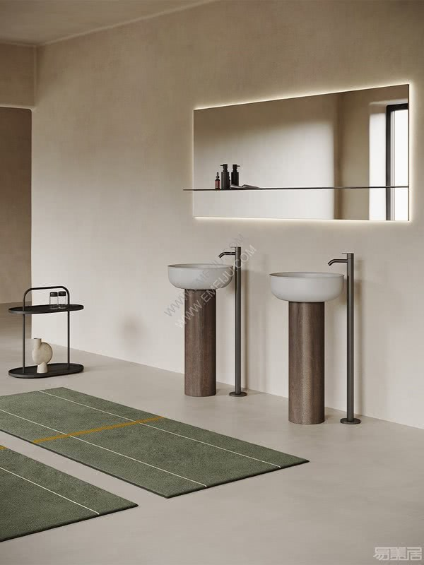 西班牙卫浴品牌Inbani提供适合任何空间的无限可能性