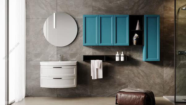 意大利卫浴品牌Mobiltesino创造新鲜和现代的线条