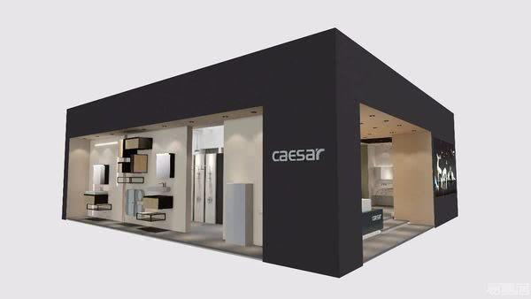 欧洲卫浴品牌凯撒CAESAR,2019年KBC上海厨卫展「空间图鉴」