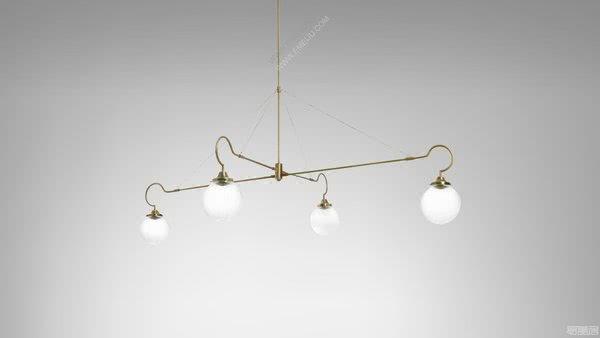 现代而不失奢华感的个性设计,英国灯饰品牌CTO Lighting