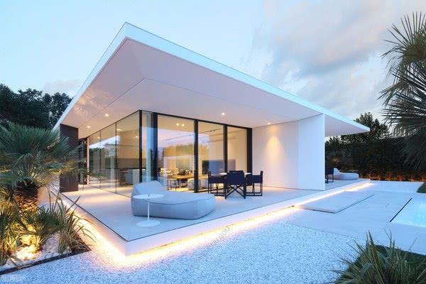 意大利瓷砖品牌Casalgrande Padana打造海滨独立公寓