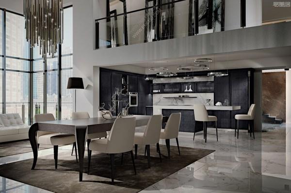 Martini Interiors家具,意大利家具品牌的经典奢华之美